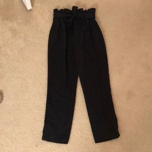 H&M Black Trousers (Size 4)